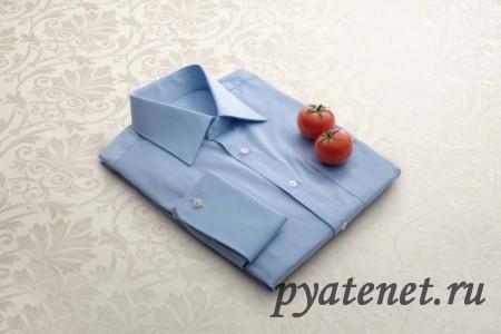 рубашка и помидоры