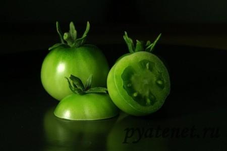 незрелый томат