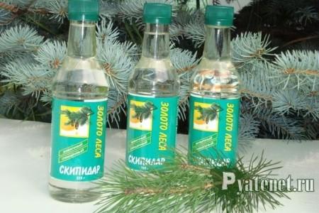 бутылки скипидара