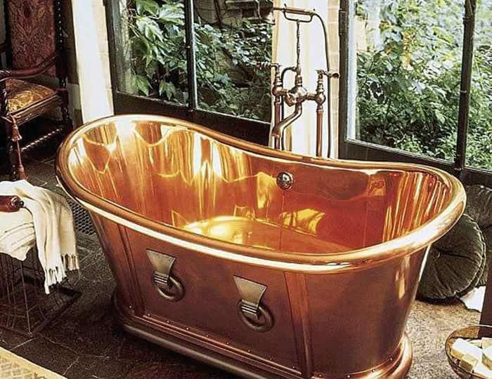 медная ванна