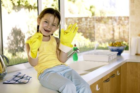 Методы, которые помогут убрать жирные пятна с обоев #57313