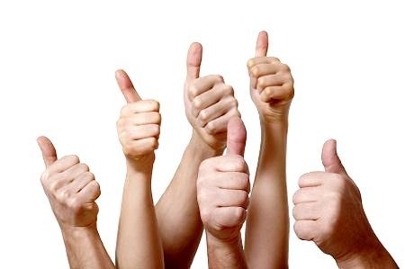 жест рукой класс