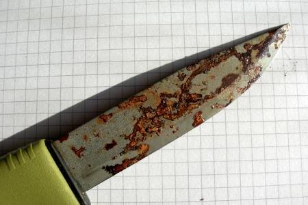 ржавый нож
