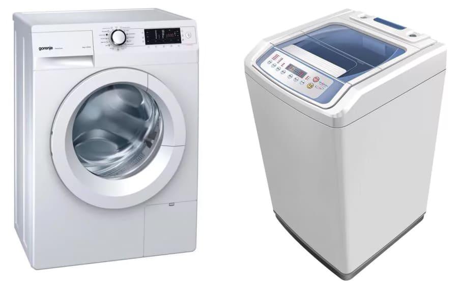 стиральная машина с вертикальной и фронтальной загрузкой